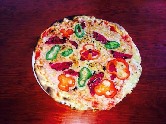 Pizzeria La Moderna: Pizza inferno
