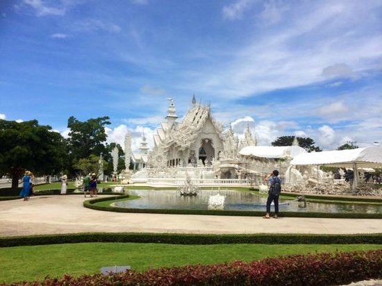 Wat Rong Khun : White Temple Chiang Rai