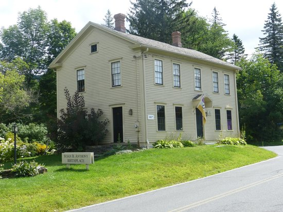 Birthplace of Susan B. Anthony