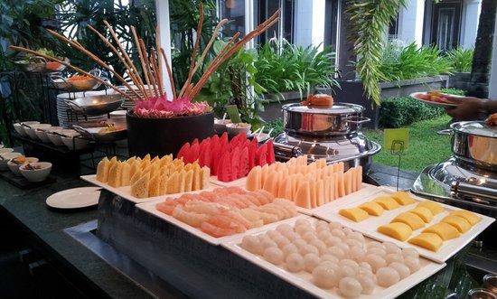 Shinta Mani Angkor : 朝食ブッフェ