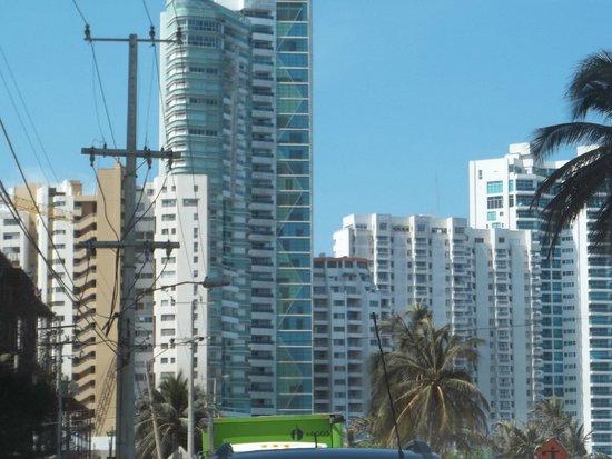 Decameron Cartagena: vista del hotel