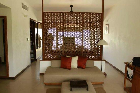 Anantaya Resort & Spa Chilaw: No so welcoming sitting area