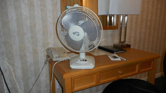 Quality Inn Downtown Inner Harbour: Air Conditioning