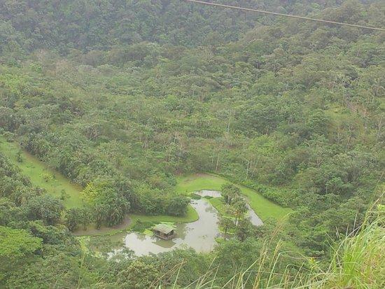 Lands in Love Hotel & Resort (Tierras Enamoradas): the resort from the mountain top