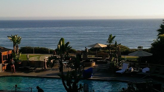 The Cliffs Resort: View of  Ocean from Room 306