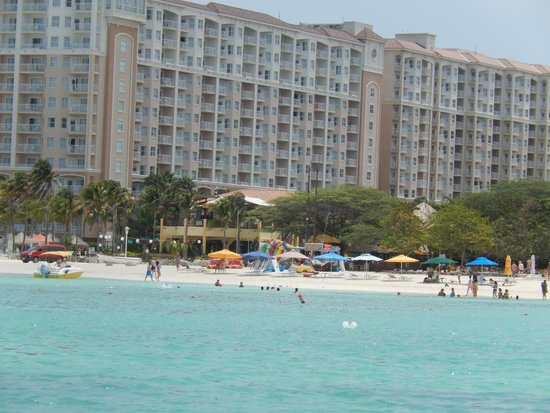 View thru window picture of divi aruba phoenix beach - Divi beach aruba ...