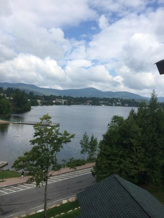 Hampton Inn & Suites Lake Placid: View from our room