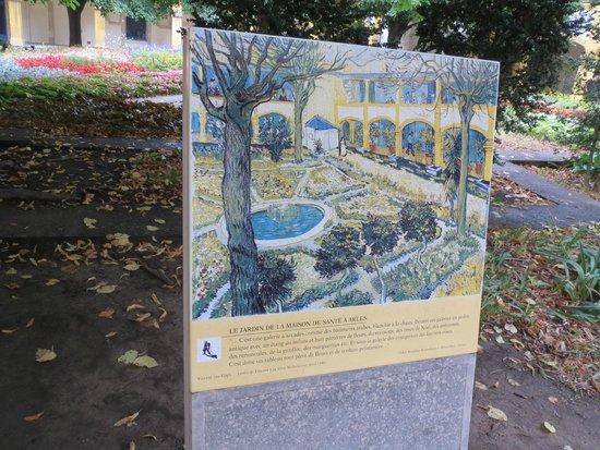 Espace Van Gogh: Van Gogh painting