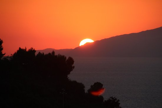 Best Western Hotel La Solara Sorrento : Sunset