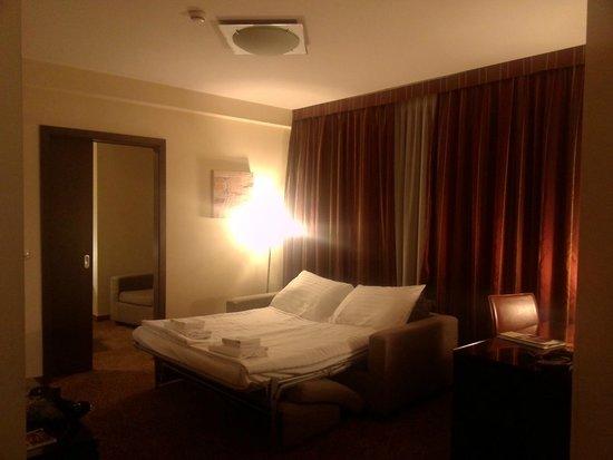 Hotel Regnum Residence: La canapé-lit