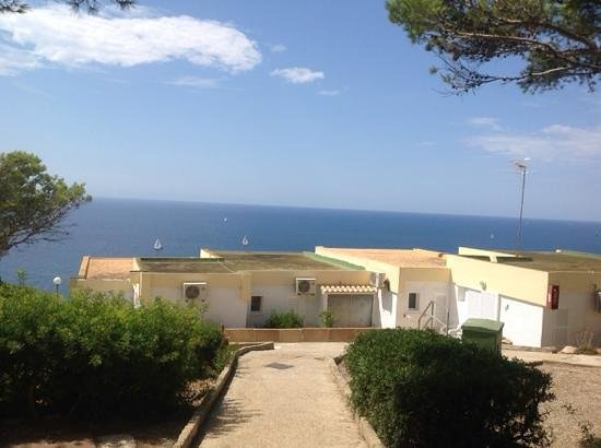 Sun Club El Dorado : our garden view, but sea view just 5 steps away