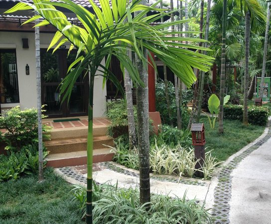 Baan Chaweng Beach Resort & Spa : entrata in camera