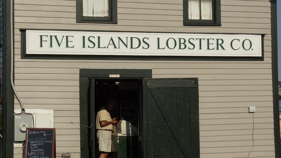 Hampton Inn Bath Brunswick : Five Islands Lobster Co.