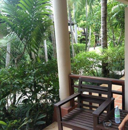 Baan Chaweng Beach Resort & Spa : vista dalla camera