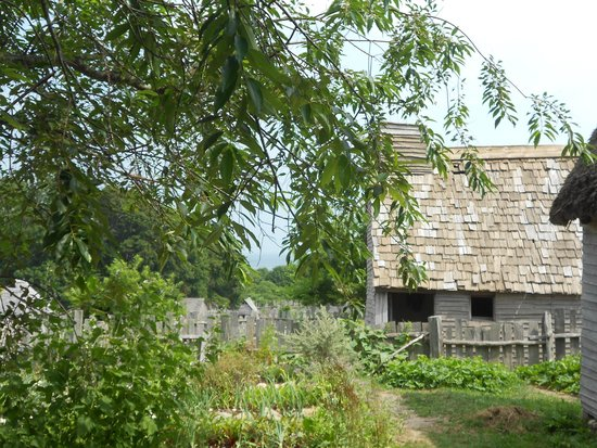 Plimoth Plantation: House with a view