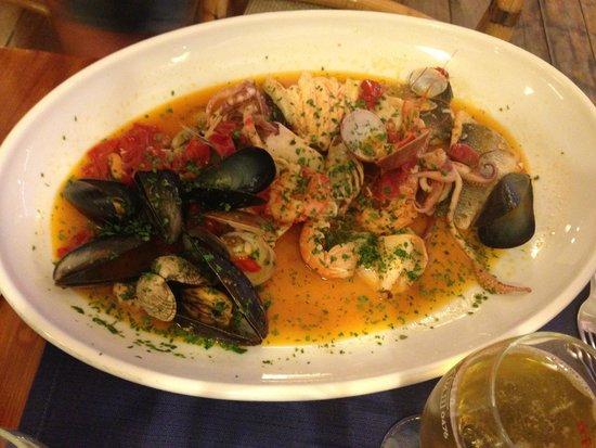 Zuppa di pesce picture of soul fish restaurant for Soul fish cafe menu