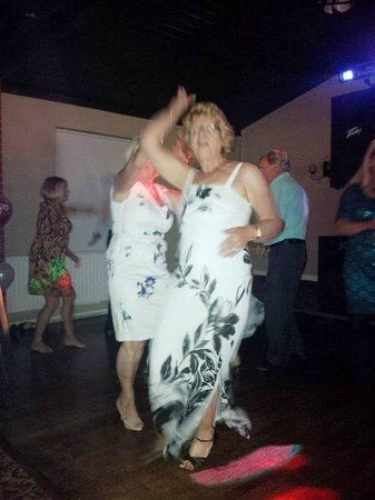 Castle Hotel: Dancing at my 70th Birthday Party