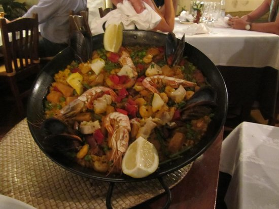 Ca'n Trompe: Our paella