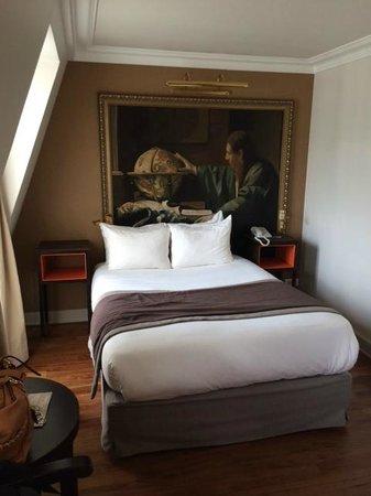 Hotel Le Walt: Bed