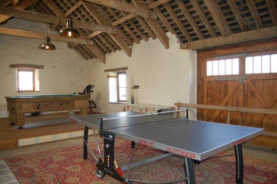 The Games Barn, Nantgwynfaen Organic Farm Wales