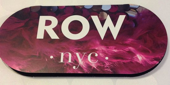 Row NYC Hotel: Hotel key holder
