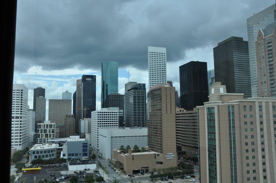 Hilton Americas - Houston: Loved the view from our room. Wished I had the Urban Cowboy soundtrack playing.