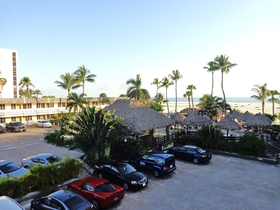 Outrigger Beach Resort: View from our balcony