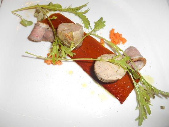 Rezkakas Bistro : Goose liver/lamb roll ups