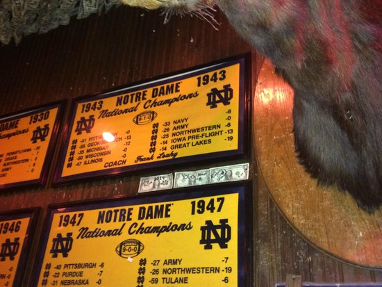 McGuire's Irish Pub : We had to share our couple of bucks!