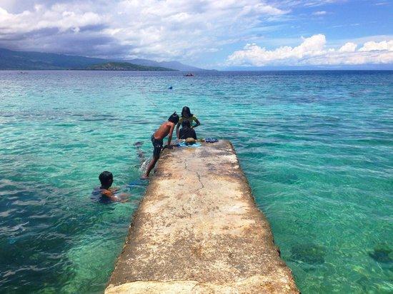 Turtle Bay Dive Resort: Resort's waterfront