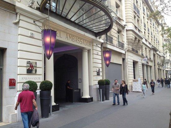 Paris Marriott Opera Ambassador Hotel : Marriott Ambassador Hotel Paris