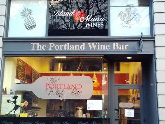 The Portland Wine Bar and Winery Tasting Room