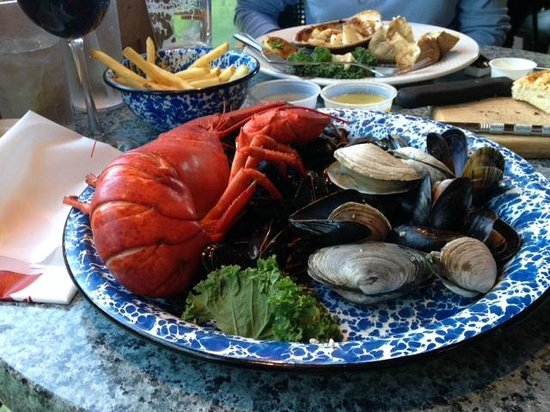 Union River Lobster Pot: A favorite meal