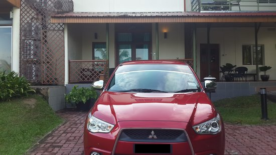 The Ocean Residence Langkawi: Our room !!! Park your car in front of your room and avoid walking distance