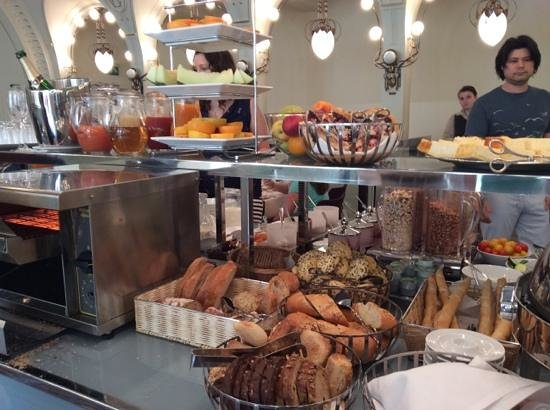 K+K Hotel Central: Just part of the breakfast feast