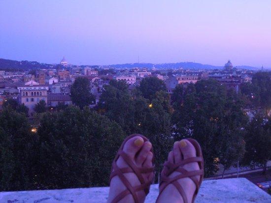Colle Aventino: Alba su una Aventine Hill