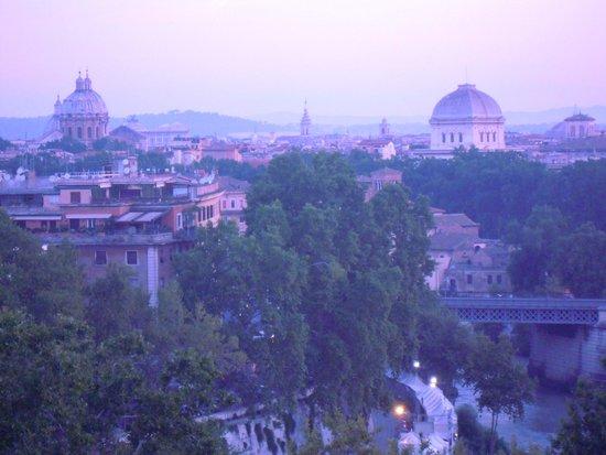 Colle Aventino: Alba a Roma