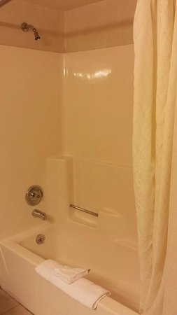 Fort William Henry Hotel and Conference Center: Bathroom