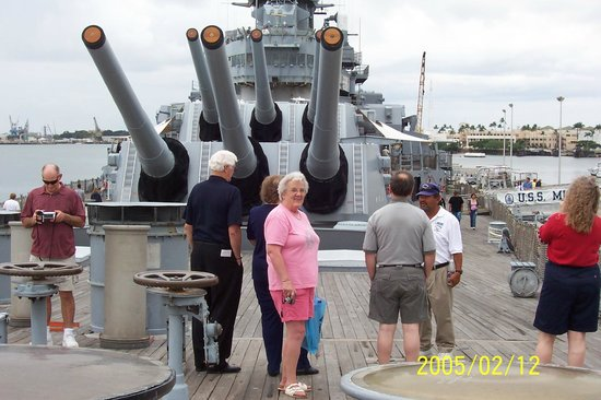USS Arizona Memorial: The Mighty Mo guns that were never fired during the war