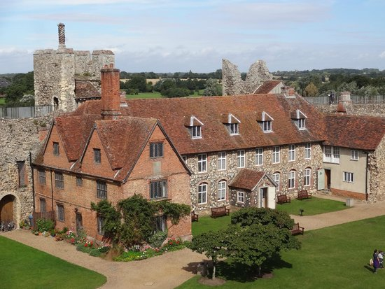 Framlingham Castle: The Red House
