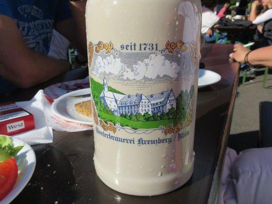 Kloster Kreuzberg: awesome Mas of Beer