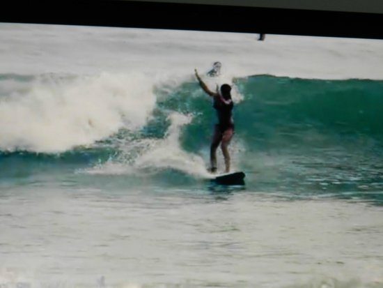 Kalon Surf - Surf Coaching Resort : Isa 11 before a few lesson... Thank´s Roberto