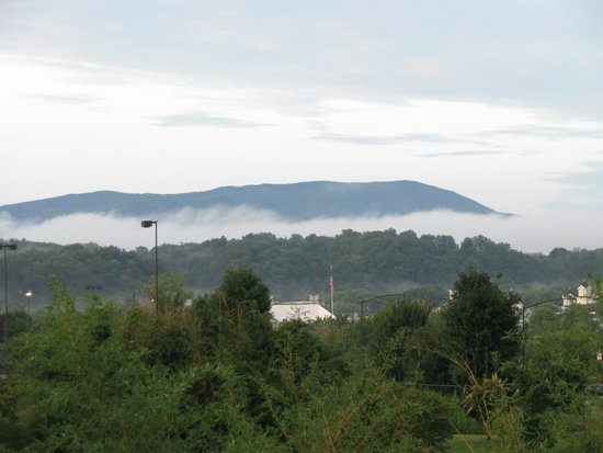 Holiday Inn Express & Suites Pigeon Forge - Sevierville: View from parking lot