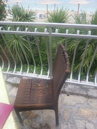 Hotel Zora : sedia ristorante