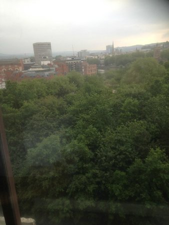 Bristol Marriott Hotel City Centre: View of Bristol