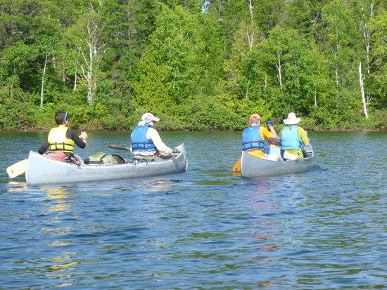Boundary Waters Canoe Area Wilderness : Daytime Paddling