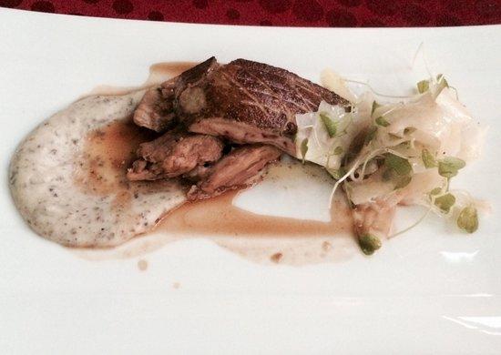 Toast! Restaurant: Pan sear foie gras