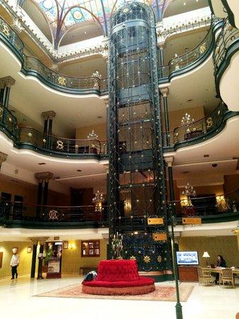 Gran Hotel Ciudad de Mexico: El ascensor