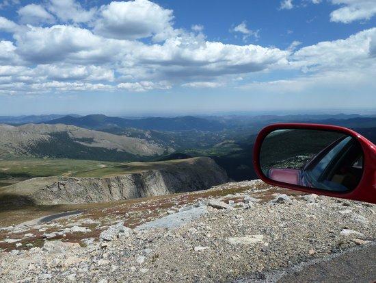 Mount Evans: Mountain air