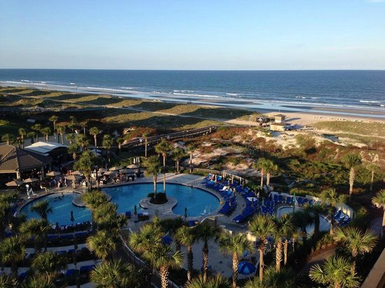 The Ritz-Carlton, Amelia Island : View from 7th floor room